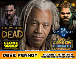 Dave Fennoy Video Game Voice Over Actor Los Angeles